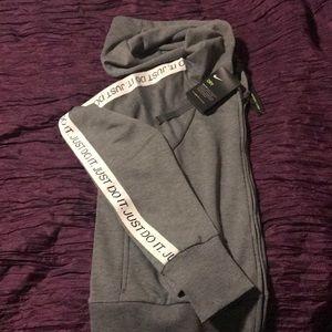 Women's. Nike Dri-Fit  Zipper Front Hoodie